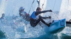 gemma jones jason saunders mixed multihull foiling nacra 17